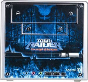 Shuttle XPC SN45GT Tomb Raider Edition Mini-Barebone aluminium (Socket A/200/dual PC3200 DDR)