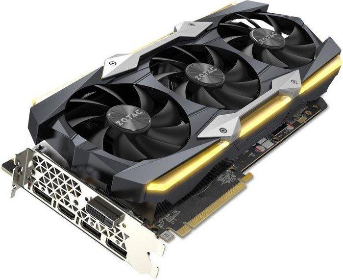 Zotac GeForce GTX 1080 Ti AMP Extreme, 11GB GDDR5X, DVI, HDMI, 3x DP (ZT-P10810C-10P)