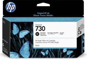 HP Tinte 730 schwarz photo 130ml (P2V67A)