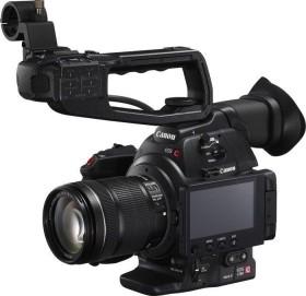 Canon EOS C100 Mark II EF mit Objektiv EF-S 18-135mm 3.5-5.6 IS STM (0297C003)