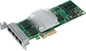 Intel PRO/1000 PT Server, low profile, 4x RJ-45, PCIe 1.0 x4 (EXPI9404PTL)