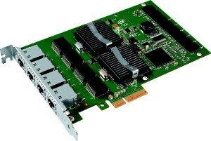 Intel PRO/1000 PT Server, 4x RJ-45, PCIe 1.0 x4 (EXPI9404PT)