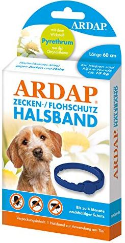 Quiko Ardap ticks-flea collar for puppies and small dogs (077200)