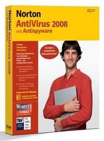 Symantec: Norton AntiVirus 2008, 3 User, Update (English) (PC) (12775267)