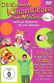 Die schönsten Kinderlieder zum Mitsingen Vol. 3 (DVD)