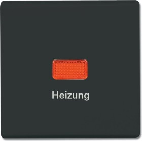 """Busch-Jaeger Allwetter 44 Wippe mit Aufdruck """"Heizung"""", anthrazit (2102 H-35)"""