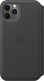Apple Leder Folio Case für iPhone 11 Pro schwarz (MX062ZM/A)