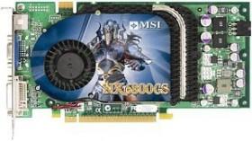 MSI NX6800GS-TD256E, GeForce 6800 GS, 256MB DDR3, DVI, S-Video (V801-023R)