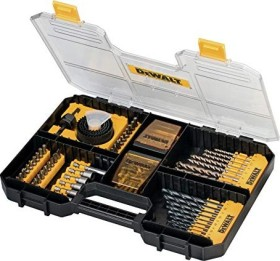 DeWalt DT71569 Drills-/bit set/wrench set, 100-piece.