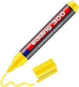 edding 300 Permanentmarker gelb (4-300005)