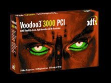 3dfx Voodoo3 3000 16MB PCI retail
