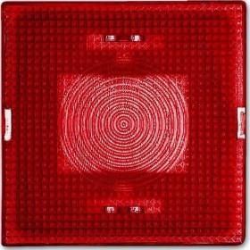 Busch-Jaeger Allwetter 44 Haube für Lichtsignal, rot (2664-12-101)