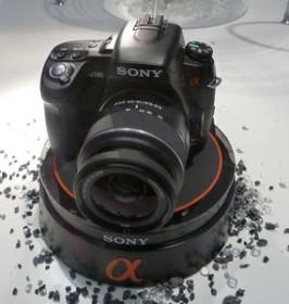 Sony Alpha 580 schwarz mit Objektiv AF 18-55mm 3.5-5.6 DT SAM (DSLR-A580L)