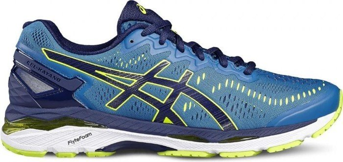 finest selection 5d259 a973b Asics gel-Kayano 23 thunder blue/safety yellow/indigo blue (men)  (T646N-4907) from £ 131.98
