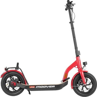 Metz moover electric scooter red