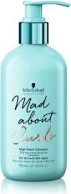 Schwarzkopf Mad About Curls High Foam Cleanser Shampoo, 300ml