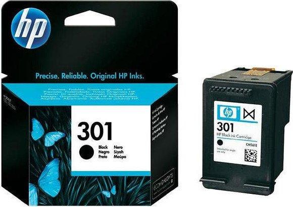 HP Druckkopf mit Tinte 301 schwarz (CH561EE)