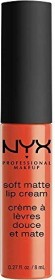 NYX Soft Matte Lip Cream Lipstick San Juan, 8ml