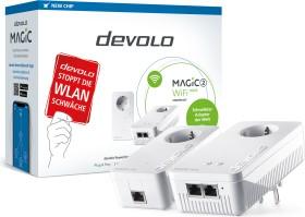 devolo Magic 2 WiFi next Starter Kit, G.hn, 2.4GHz/5GHz WLAN, 2x RJ-45, 2er-Bundle (8614)