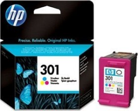HP Printhead with ink 301 tricolour (CH562EE)