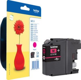 Brother ink LC121M magenta