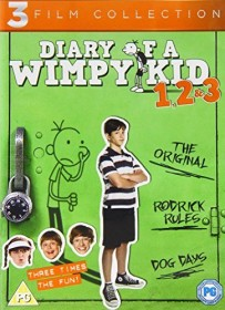 Diary of a Wimpy Kid 1, 2 & 3 (DVD) (UK)