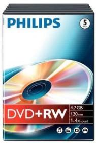 Philips DVD+R 4.7GB, 5er Videobox (DW4S4T05F)