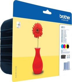 Brother Tinte LC121VAL Value Pack (LC121VALBPDR)