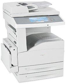 Lexmark X864de3, S/W-Laser (19Z0192)