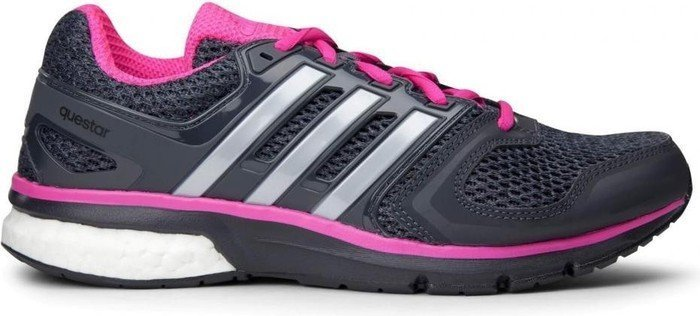 fuego dinosaurio Goma  adidas Questar Boost core black/silver/shock pink (ladies) (BA9308)    Skinflint Price Comparison UK