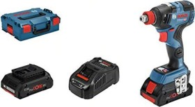 Bosch Professional GDX 18V-200 C Akku-Schlagschrauber inkl. L-Boxx + 2 Akkus 4.0Ah (06019G4206)