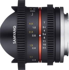 Samyang 8mm T3.1 Cine UMC fisheye II for Canon EF-M black