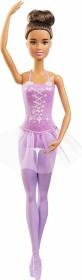 Mattel Barbie Ballerina Barbie im Ballerina-Outfit mit Tutu und Spitzenschuhen brünett (GJL60)