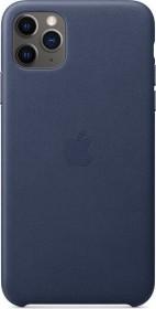 Apple Leder Case für iPhone 11 Pro Max mitternachtsblau (MX0G2ZM/A)