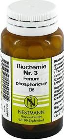 Nestmann Biochemie 3 Ferrum phosphoricum D6 Tabletten, 100 Stück
