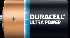 Duracell Ultra Power Mono D, 2er-Pack