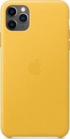 Apple Leder Case für iPhone 11 Pro Max sonnengelb (MX0A2ZM/A)