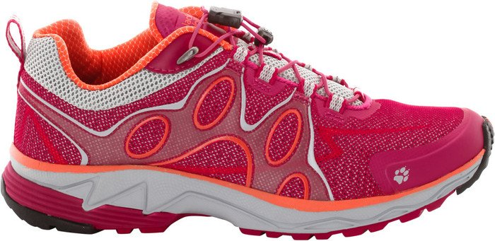 Jack Wolfskin Passion Trail Low Trailrunning Shoes Women azalea red 37,5 2016 Trail Running Schuhe