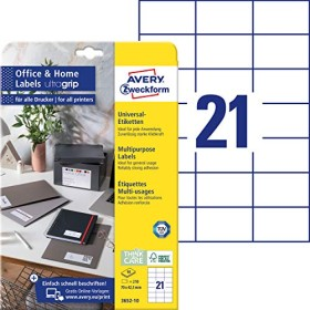 Avery-Zweckform labels 70x42.3mm, white, 10 sheets (3652-10)