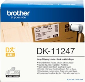 Brother DK-11247 labels, 103x164mm, white, 1 Role (DK11247)