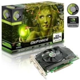 Point of View GeForce GTX 550 Ti, 1.5GB GDDR5, 2x DVI, Mini HDMI (VGA-550-A1-1536)