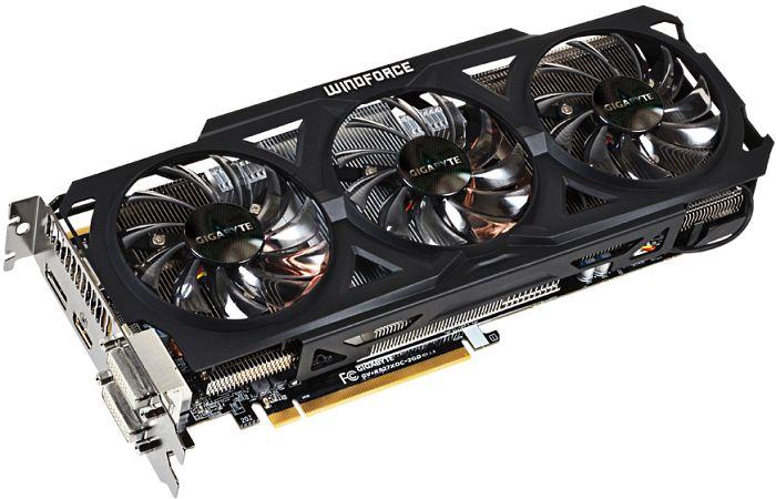 Gigabyte Radeon R9 270X Windforce 3X OC, 2GB GDDR5, 2x DVI, HDMI, DisplayPort (GV-R927XOC-2GD)