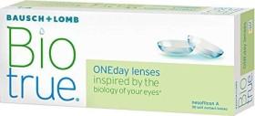Bausch&Lomb Biotrue ONEday, +0.25 Dioptrien, 30er-Pack