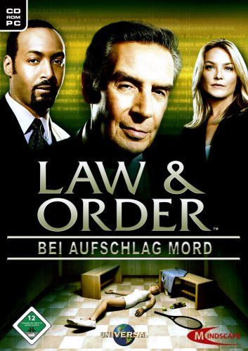 Law and Order - Bei Aufschlag Mord (niemiecki) (PC) -- via Amazon Partnerprogramm