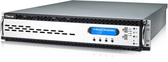 Thecus Linux NAS Enterprise N12850RU, 4x 10GBase-T LAN, 2HE