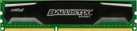 Crucial Ballistix Sport DIMM 8GB, DDR3-1600, CL9-9-9-24 (BLS8G3D1609DS1S00)