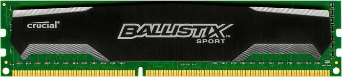 Crucial Ballistix sports DIMM 8GB PC3-12800U CL9-9-9-24 (DDR3-1600) (BLS8G3D1609DS1S00)