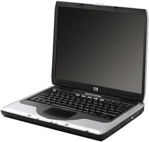 "HP nx9000, P4m 2.40GHz, 40GB HDD, 15"" TFT (DN577A)"