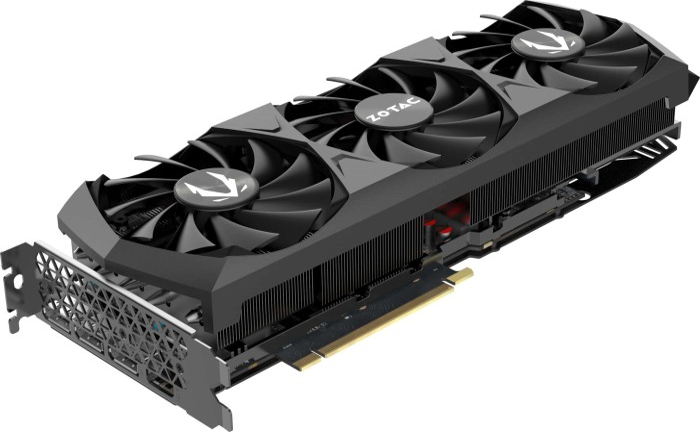 Zotac Gaming GeForce RTX 3080 Trinity, 10GB GDDR6X, HDMI, 3x DP (ZT-A30800D-10P)