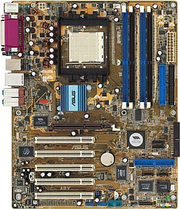 ASUS A8V Deluxe (dual PC-3200 DDR) (90-M9L0A1-G0EAY)